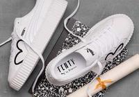 Rihanna x Puma Fenty 推特別版為慈善出力,簡約刺繡心心已夠美