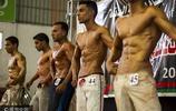 加沙:巴勒斯坦舉行健美大賽 中東猛男展示完美肌肉