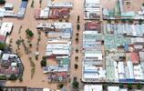 熱帶氣旋[黛比'從澳大利亞過境 航拍停機坪變孤島
