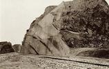 """老照片:留美""""海歸""""詹天佑1910年建造的鐵路"""