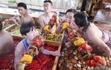 杭州現九宮格火鍋溫泉,泡著擼串吃蔬果,屬豬的人能免費進場