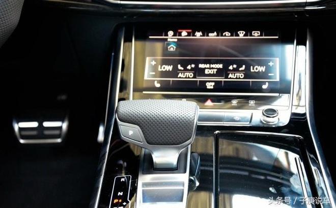 新奧迪Q8實車還是很漂亮的,外觀很時尚、內飾很有科技感