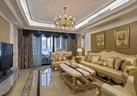 哈爾濱業之峰裝飾-新古典風格設計方案