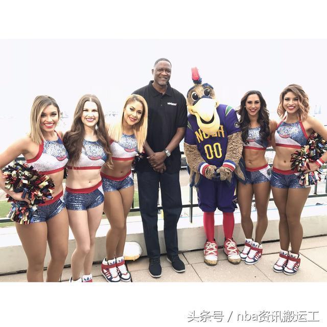 巡禮NBA啦啦隊之新奧爾良鵜鶘隊——新月城裡歷經磨難的不死鳥