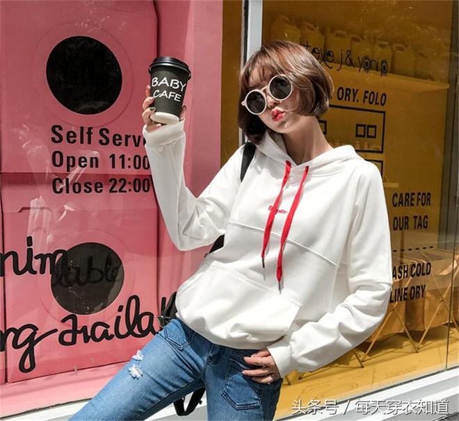 時髦個性的韓版衛衣,潮搭神器,穿出時尚達人範,好看到爆~