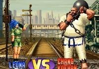 《拳皇》中陳國漢和莉安娜是cp嗎?為什麼他們會有特殊的開場動畫?
