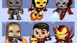 一組Q萌漫畫講述漫威超級英雄演變史:鋼鐵俠雷神變化最大