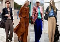 愛穿闊腿褲的女人,不妨試下這4種搭配,不僅顯嫩還超好看