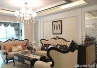 晒晒120㎡大房子,奢華歐裝花了35萬,在小區裡算是數一數二