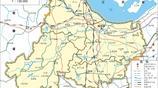 國家歷史文化名城浙江湖州市,兩區三縣高清地圖