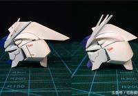偽模型製作範例:卡海牛修改對比圖