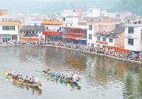 池塘賽龍舟 傳承五百年