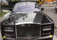 勞斯萊斯當婚車被撞,維修費高達50萬,但是亮點卻在車牌上