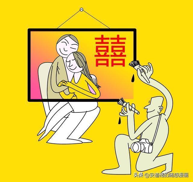 隨感漫畫:哦!日子真是個小偷,偷童真,偷青春,還偷感情和浪漫