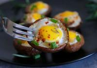 烤香菇小太陽 造型可愛又好吃 孩子一定很喜歡