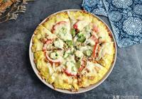1個饅頭,3個雞蛋做一份中式披薩,花錢不多卻營養,當早餐真省事