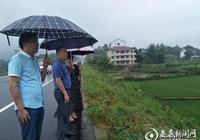 何覺慧赴上渡辦事處調研指導美麗鄉村建設工作
