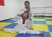 女兒心中的跆拳道和瑜伽