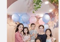 董璇為小酒窩慶3歲生日,與李小璐甜馨同框比美,場面溫馨奢華