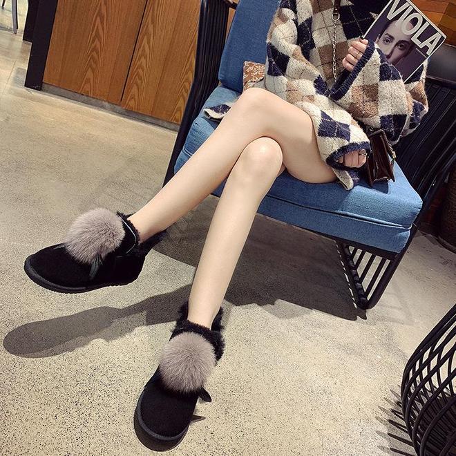 天冷了,12月新出的幾款雪地靴,70後搶瘋,美得俏麗多姿