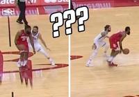 7圖看NBA貼身防守瞬間:貝弗利趴在杜蘭特懷裡,盧比奧為哈登讓路