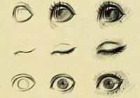 素描不能畫動漫?素描各種眼睛畫法以及美少女!太值得收藏~