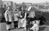 老照片:華人,一百多年前在美國艱辛生存的同胞