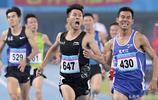 駱玉璽奪全運會男子1500米跑冠軍