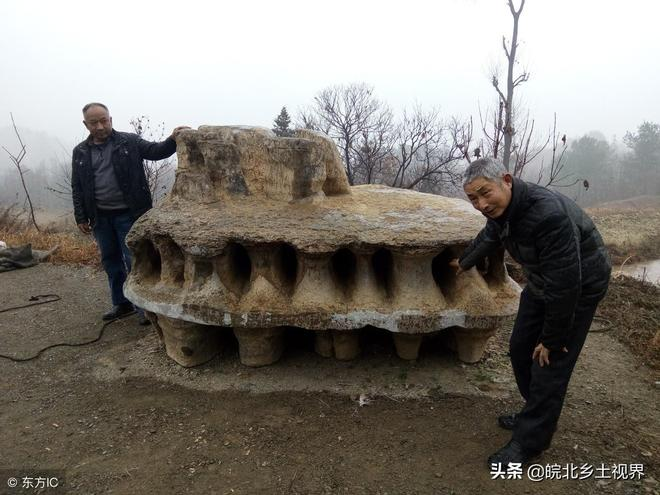 """農民挖一塊""""外星飛碟""""奇石,橢圓形,10萬拒賣,專家也琢磨不透"""