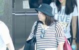 胖了?章子怡穿寬鬆運動裝低調十足,素顏戴帽手拿保溫杯養生佛系