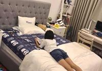 林志穎曝光大兒子kimi房間照片,沒想到大兒子kimi腿這麼長