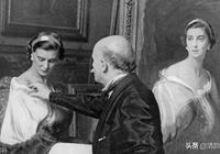 匈牙利畫家菲利普-亞歷克修斯德拉斯洛的肖像油畫
