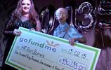 女子幫老人籌集善款30萬 結果好心沒好報
