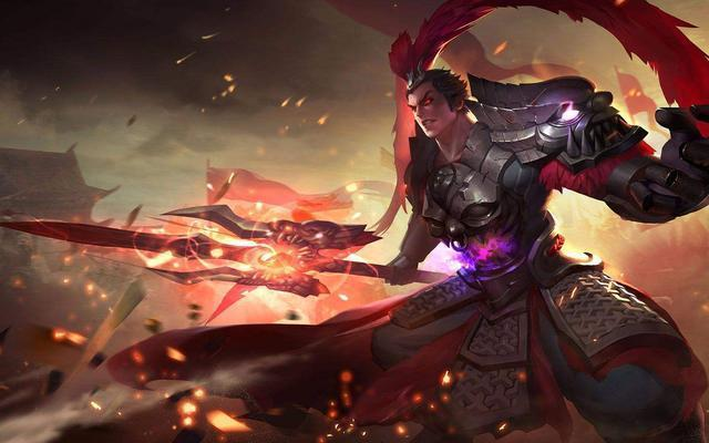 王者榮耀:縱橫血與火的殺戮,最強呂布分析