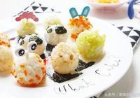寶寶輔食製作之迷你可愛五彩蔬菜飯糰,寶寶一口一個