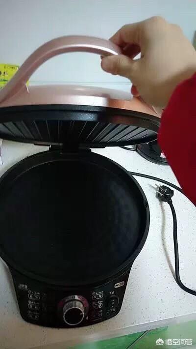 電餅鐺烙餅方法?