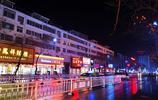 實拍雨中的平輿縣城,多姿多彩,猶如童話的世界!