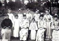 清朝光緒的皇后和妃子,這幾張老照片讓我有點懷疑光緒的眼光