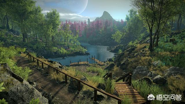 畫面最美的,最夢幻的電腦單機遊戲有哪些?推薦一下?