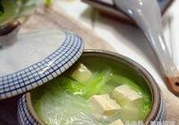 白菜豆腐湯,簡單好吃才是硬道理