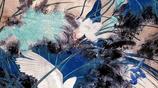 (花開紅樹亂鶯啼,草長平湖白鷺飛)國畫中的白鷺