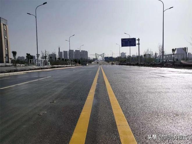 蘭州崔家大灘好事不斷 深安大道通車能否成為萬達城建設的保護傘