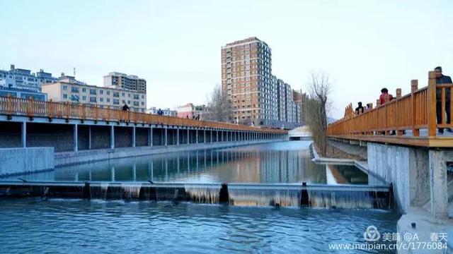 【山丹】美麗的山丹河