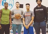 76人隊三少主輪番放狠話!網友:NBA選秀順位是靠吹牛排的嗎?