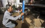 """甘肅農民電器維修搞大了 看電視受啟發造出一架微型""""直升機""""來"""