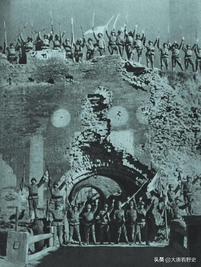 老照片,日寇鐵蹄下的河南彰德,每張都是一段屈辱史