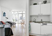 晒閨蜜27平小戶型,一進門就是廚房,衛生間裡擠洗衣間!太划算了