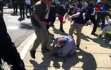 土耳其總統訪問美國 抗議者遭其保鏢打傷