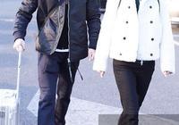 聶遠夫婦穿情侶裝現身,秦子越穿闊腿褲比例驚豔,31歲卻難掩老態