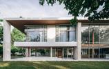 住宅設計:底層局部架空的接地氣的現代風格別墅豪宅,後附平面圖